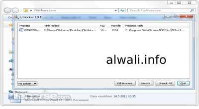 تحميل برنامج اونلوكر Unlocker للكمبيوتر