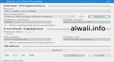 تحميل برنامج حرق الويندوز Rufus للكمبيوتر