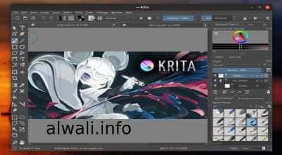تحميل برنامج krita كريتا للتصميم والرسم الرقمي للكمبيوتر