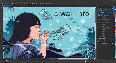 تحميل برنامج كوريل درو Corel draw عربي للكمبيوتر