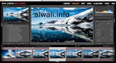 تحميل برنامج لايت روم Adobe Photoshop Lightroom للكمبيوتر