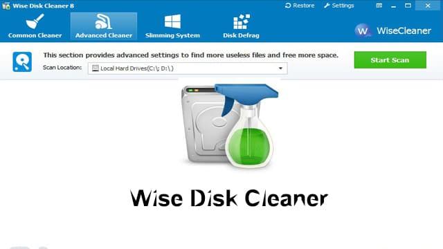 تحميل برنامج Wise Disk Cleaner