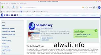 تحميل متصفح آمن وسريع SeaMonkey للكمبيوتر
