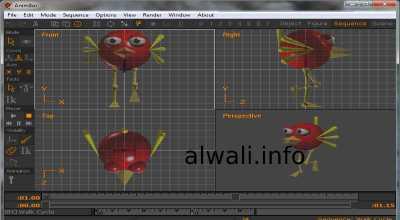 تحميل برنامج anim8or لصناعة الرسوم المتحركة للكمبيوتر